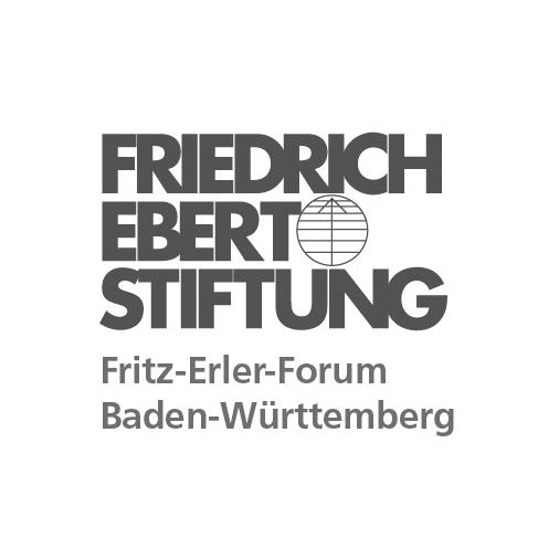 Friedrich Ebert Stiftung - Fritz Erler Forum Baden Württemberg - Logo