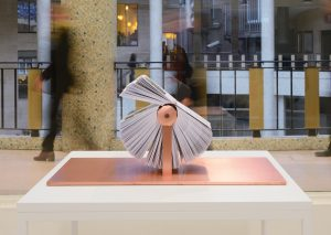 Ana Torfs: Story Generator, Installationsansicht Atelier Vlaams Bouwmeester, Brüssel, 2015